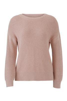 Zig Zag Stitch Sweater by White + Warren