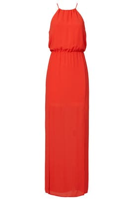 Red Jeannine Maxi by BCBGMAXAZRIA