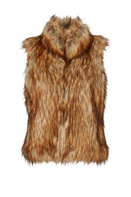 Belding Faux Fur Vest by BB Dakota