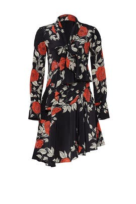 Floral Flounce Dress by Jason Wu