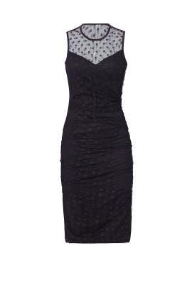 Black Janine Dress by Shoshanna