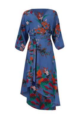 Camden Cove Wrap Dress by Diane von Furstenberg