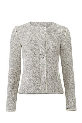 Cream Tweed Jacket by Slate & Willow
