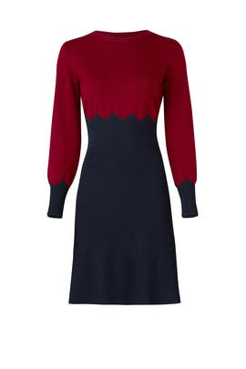 Jeanne Sweater Dress by Tory Burch