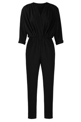 Black Gemma Jumpsuit by Amanda Uprichard