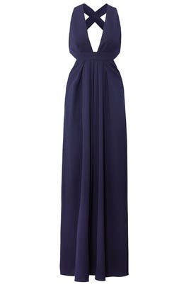 Violet Cross Back Gown by Jill Jill Stuart