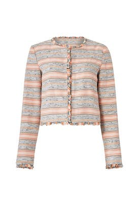 Multi Striped Jacket by Lovers + Friends