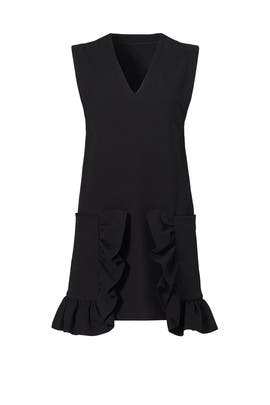 Ruffle Pocket Tunic Dress by Marni