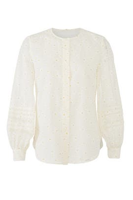 Daisy Hayden Top by Tory Burch