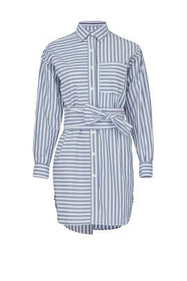The Alda Stripe Shirtdress by Current/Elliott