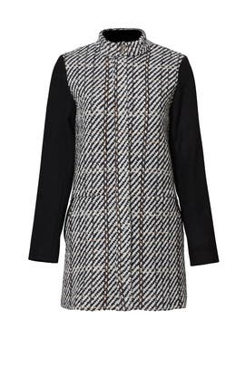 Black Printed Remi Coat by Waverly Grey
