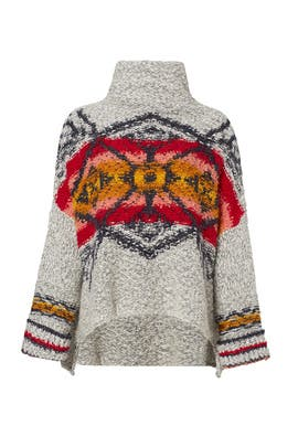 Grey Arctic Blast Pullover by Free People