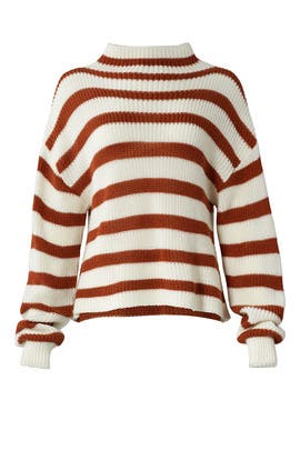 Striped Sylvia Sweater by Paper Crown