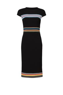 Black Hadlie Dress by Diane von Furstenberg