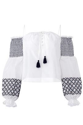 White Tiffany Top by Rebecca Minkoff