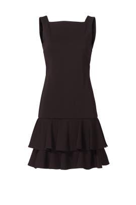 Black Jazz Night Dress by ST by Olcay Gulsen
