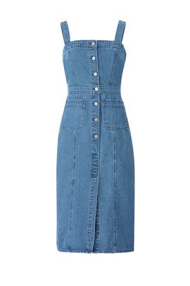 Denim Lauren Dress by BB Dakota