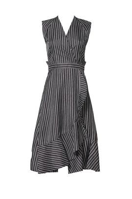 Black Striped Dress by Carven