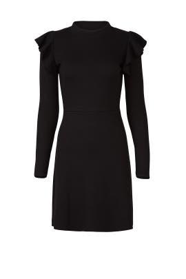 Sleek Ruffle Dress by J.O.A.
