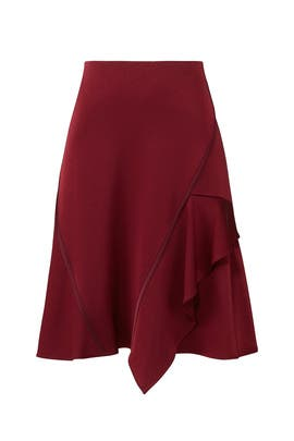 Garnet Asymmetrical Skirt by Jason Wu Grey