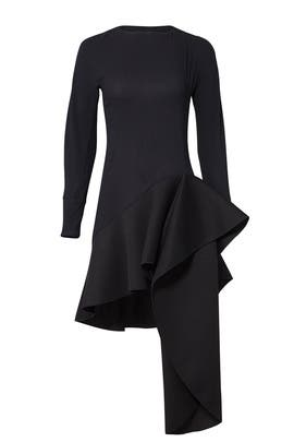 Nero Flare Dress by Antonio Berardi