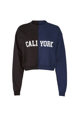 CaliYork Sweatshirt by Cynthia Rowley