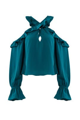 Teal Kinley Top by LIKELY