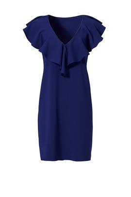 Navy Carnegie Dress by Amanda Uprichard
