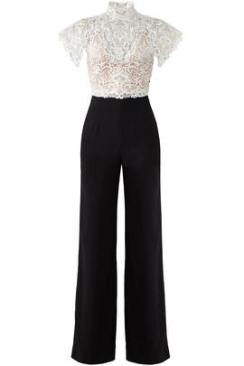 Lace Juliana Jumpsuit by CATHERINE DEANE