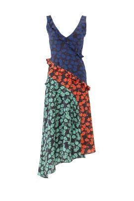 Multi Aggie Dress by SALONI