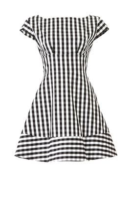 Gingham Fiorella Dress by kate spade new york