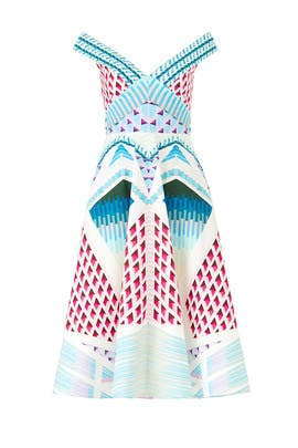 Azure Sun Shade Dress by Temperley London