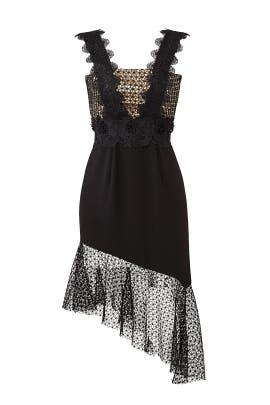 Asymmetric Lace Dress by UnitedWood