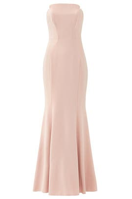 Rose Pink Academy Gown by Jill Jill Stuart