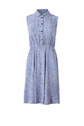 Blue Petals Shirtdress by kate spade new york