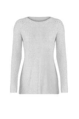 Light Gray Ribbed Tunic by Michael Stars