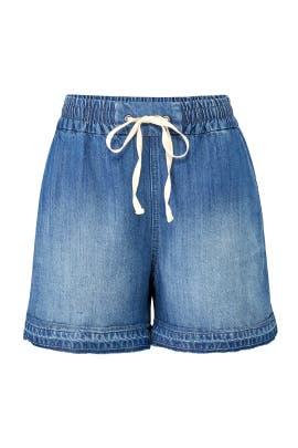 Released Hem Denim Shorts by Splendid