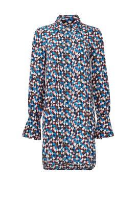 Navy Prism Kaylee Dress by Tory Burch