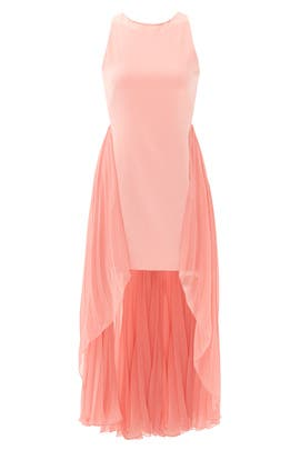 Parfait Pleats Dress by Halston Heritage