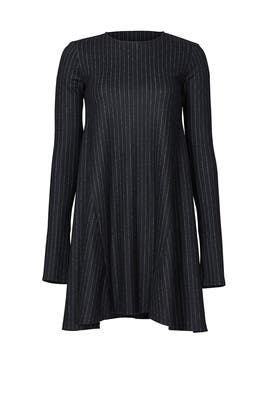 Geremy Pinstripe Dress by Theory