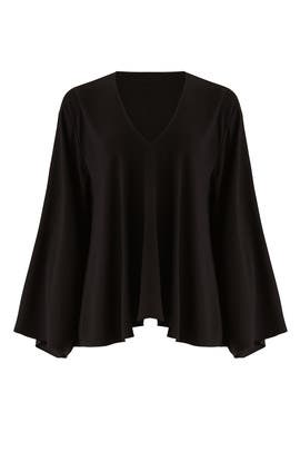 Black Ellis Top by Elizabeth and James