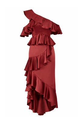 Garnet Lorelei Dress by AMUR
