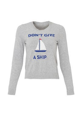 Don't Give a Ship Sweater by Milly