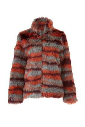 Faux Fur Paula Jacket by Saylor