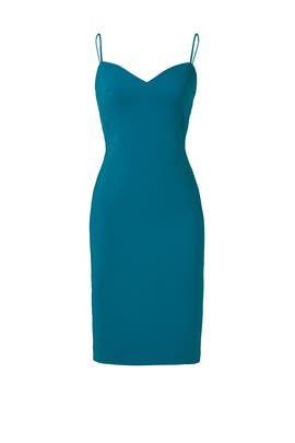 Teal Sweetheart Sheath Dress by Slate & Willow