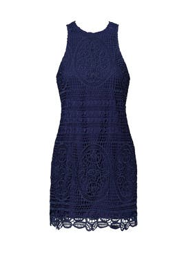 Navy Caspian Dress by Lovers + Friends
