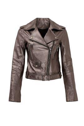 Silver Belfast Moto Jacket by Parker