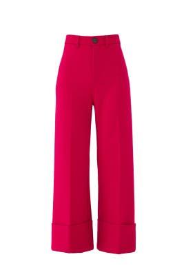 Fuchsia Wool Tradition Pants by Sea New York