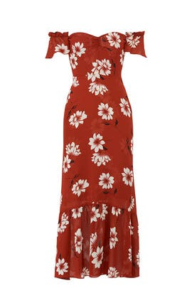 Floral Butterfly Dress by Reformation