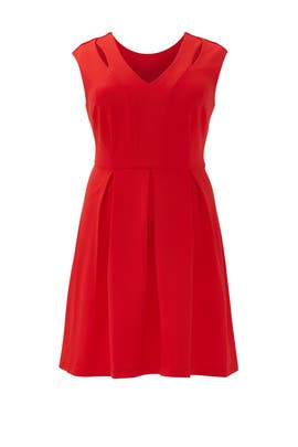 Red Analisa Dress by Slate & Willow